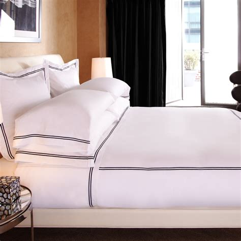 frette bedding create a luxury suite at home progression by design