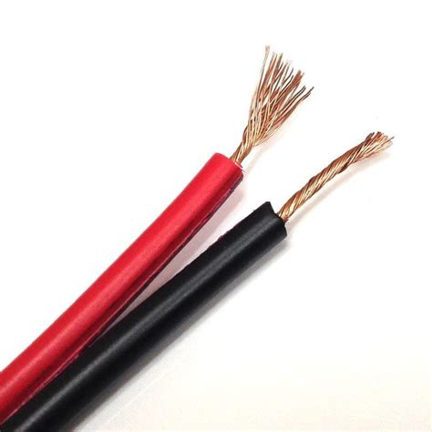 audiopipe 14 25 black stereo speaker wire zip