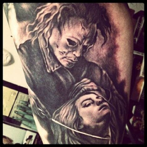 michael myers tattoos boys and ghouls horror tattoos tattoos tattoos