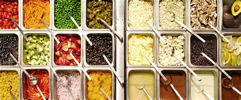 salad bar toppings chopped salad bar menu se port delicatessen