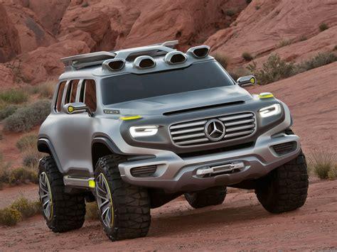mercedes trucks suv concept 4x4 wallpaper 2048x1536