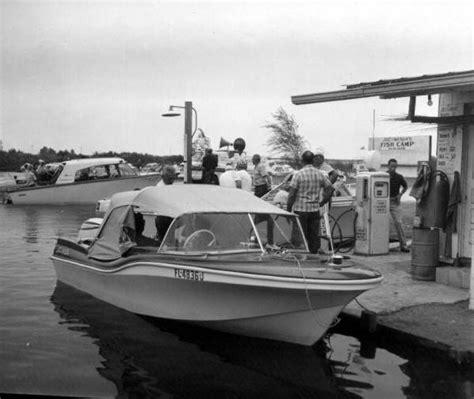 florida memory boat service station along the kissimmee - Boat Service Station
