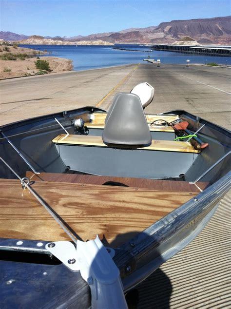 aluminum fishing boat improvements my 70 s valco 14 aluminum fishing boat ripped her