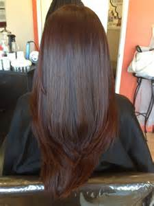 hair color glaze hair after color glaze hair cut and blowout