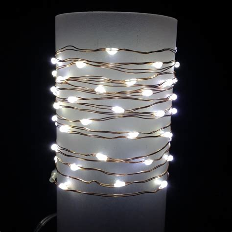 led wire string lights