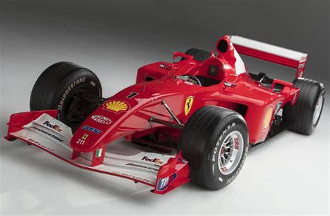 michael schumacher s f2001 ferrari sells for 7m at auction f1 news michael schumacher f1 hero s ferrari f2001 car to go to auction at sotheby s daily star
