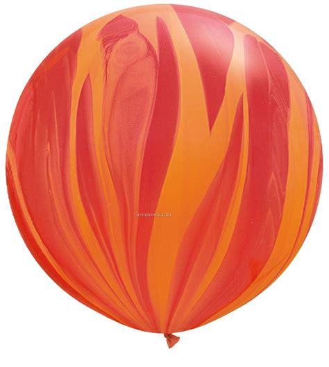 Limited List Cardi Orange Promo 30 quot superagate balloon rainbow colors