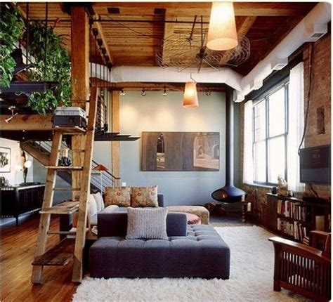 loft living room ideas home design inspiration for your loft style living room homedesignboard