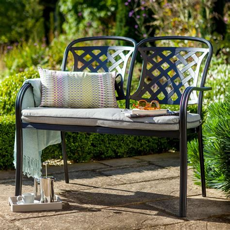 berkeley bench berkeley cast aluminium garden bench 163 193 89