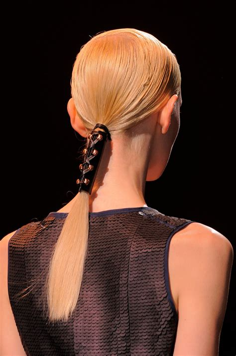 Hair Trend Report: Leather Hair Accessories   Hair Trend Report   Livingly