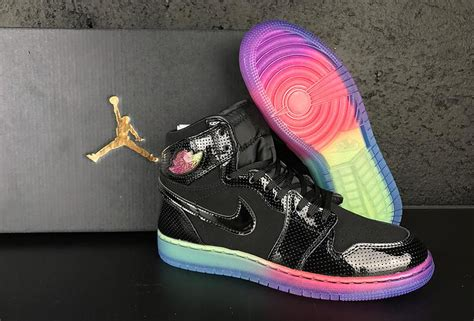 Sepatu Nike Air One Rainbow Sole new air 1 high gs rainbow sole for sale nike jordans 2018