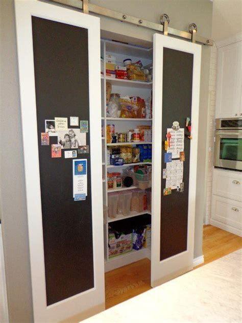 Pantry Sliding Doors by Best 25 Chalkboard Pantry Doors Ideas On