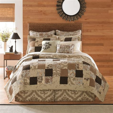 b smith bedding b smith s aqua latte quilt collection house beautiful