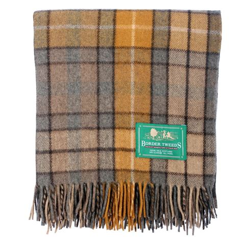new bnwt scottish throw large wool tartan rug range of