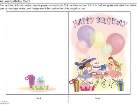 printable birthday cards girl birthday cards free online printable for girls pictures