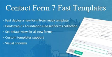 contact form 7 templates contact form 7 fast templates https codeholder net