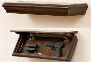 5 ideas for shelf for guns storage