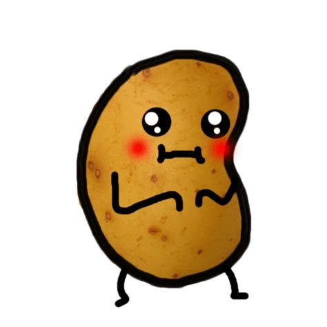 funny hot potato gif om nom nom its soooo hungry xd makes maybe my christmas