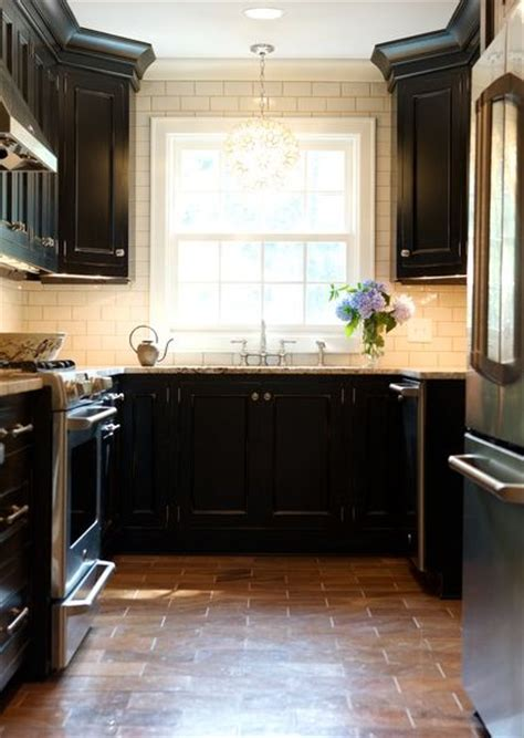 Black Kitchen Cabinets White Subway Tile white subway tile with cabinets memes