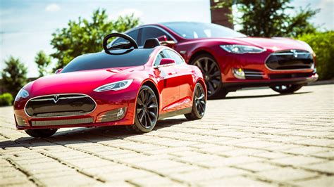 hook em while they re we drive radio flyer s tesla