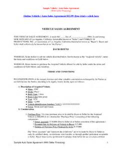 sample of automobile installment agreement fill online