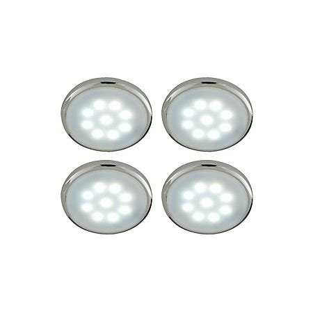 b q select plugin led cabinet light kit 0 05w pack of 4