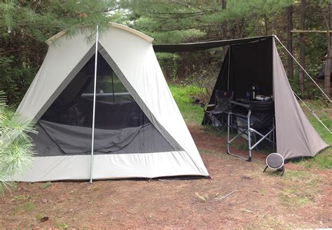 canvas tent awning kodiak vestibule wing 0601 for 10 ft canvas tents