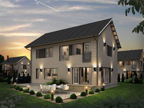 prefab homes and modern prefabricated panelized home