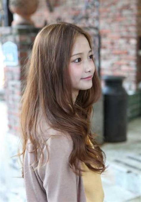 Frem Korea Bulat Oval Terbaru 80 model rambut panjang wanita lurus layer berponi dll terpopuler 2018