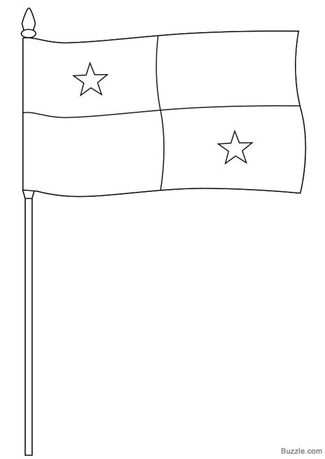 Panama Coloring Pages Panama Flag Coloring Page Cliparts Co by Panama Coloring Pages