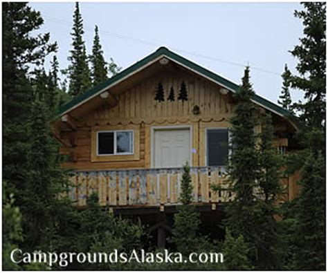 Denali Cabins For Rent by Denali Grizzly Resort Alaska