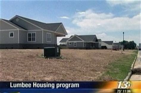 lumbee tribe offers housing program scnow state