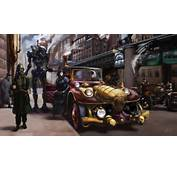 Download Robots Steampunk Wallpaper 1600x921  Wallpoper 389973