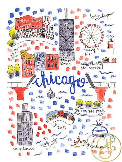 chicago map print 17 best images about chicago quot s best on