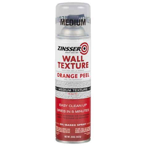 spray paint orange peel fix zinsser 20 oz wall texture medium based orange peel