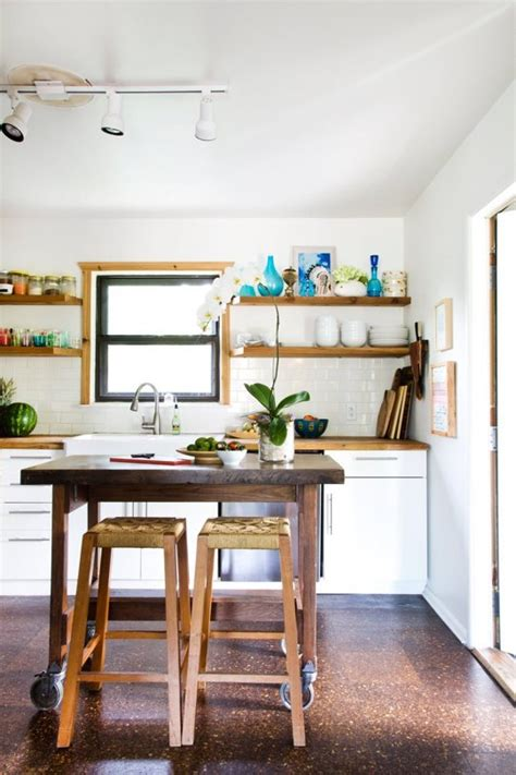 open kitchen shelving culture scribe 6 ways to make a small kitchen look infinitely bigger