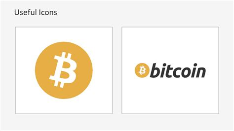 Bitcoin Currency Symbol Powerpoint Slidemodel Bitcoin Powerpoint Template