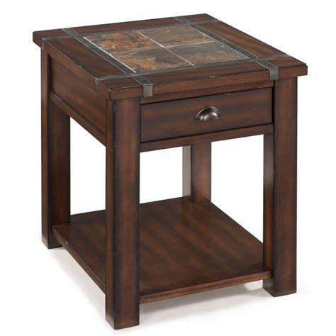roanoke end table bernie phyl s furniture by