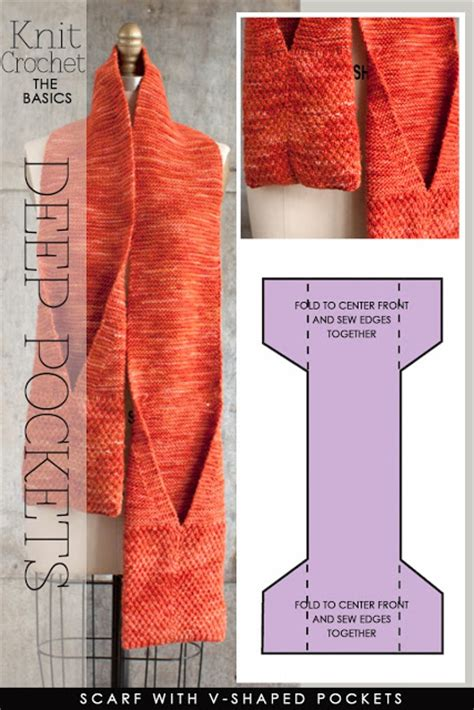 pocket scarf knitting pattern diaryofacreativefanatic