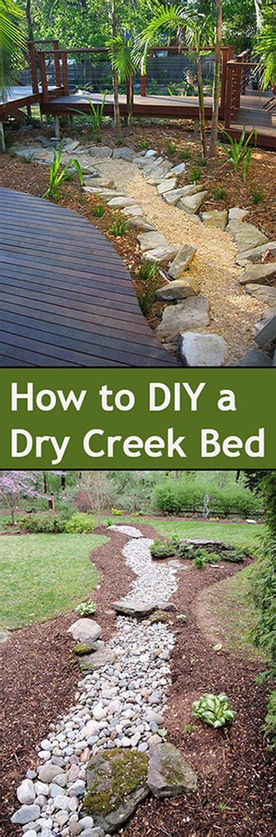 how to make a dry creek bed 50 super easy dry creek landscaping ideas you can make