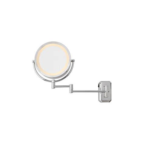 miroir salle de bain mural 2 faces 230v grossissant x3