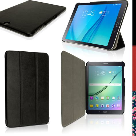 Flip Cover Samsung Tab S2 9 7 pu leather smart cover for samsung galaxy tab s2 9 7 quot sm