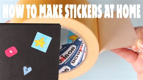Paper To Make Stickers - easy diy paper stickers how to make stickers