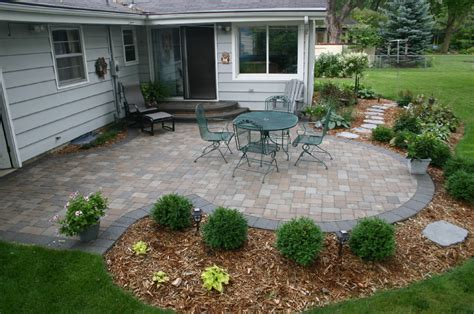 Outdoor Concrete Patio Ideas Next To Brick Images Brick Brick Paver Patio Ideas