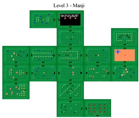 legend of zelda map level 7 the legend of zelda world dungeon maps