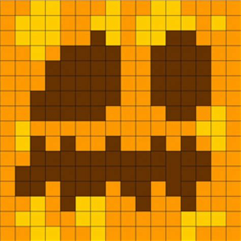 minecraft pumpkin coloring pages color block minecraft pumpkin tote project for halloween