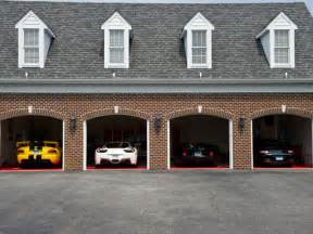 Garage Images Wondered Where Billionaires Park Their Supercars
