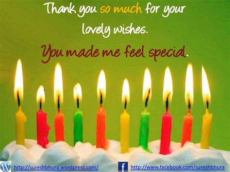 Thank You Card For Birthday Wishes Birthday Wishes Thank You Birthday Pinterest