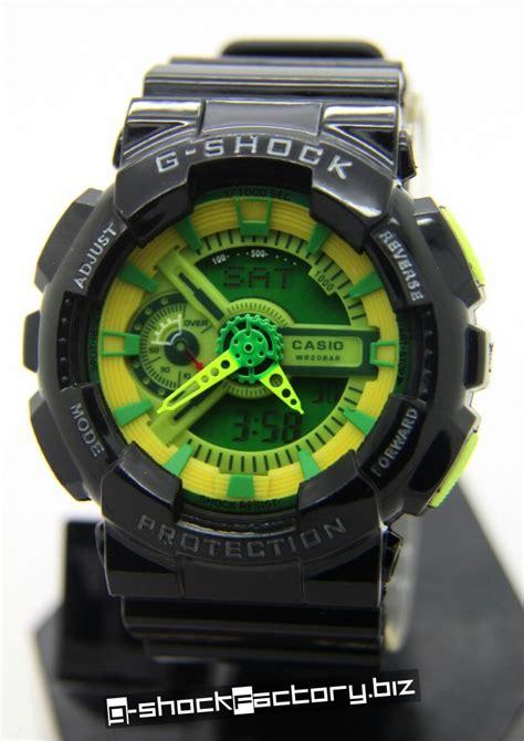 G Shock Glx 150 Green Grey Army g shock ga 110b 1a3jf hyper color black green by