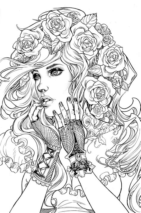 fashion coloring book for adults dress stress relief coloring book for grown ups books southernnightgownsdcc bw by toolkitten on deviantart